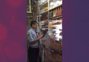 Exhiben a repartidor de Bimbo mientras roba dinero de tiendita en Edomex
