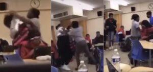 Detienen a una maestra por golpear a su alumna en el salón de clases