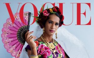 Comunidad muxe protagoniza portada de Vogue México de diciembre