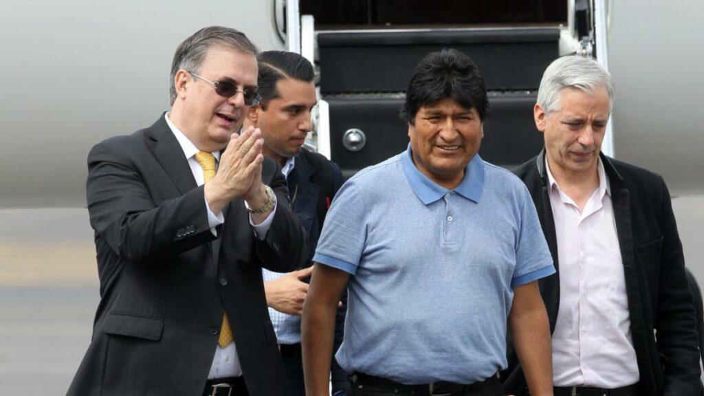En México Evo Moreles gozará de libertad y seguridad: Marcelo Ebrard
