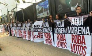 Morena se niega a repetir votación de elección para titular de la CHDH