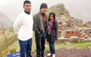 Hijos del expresidente Evo Morales abandonan Bolivia y viajan a Argentina