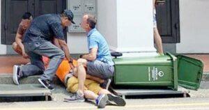Hombre es linchado por presuntamente grabar debajo de la falda de una mujer