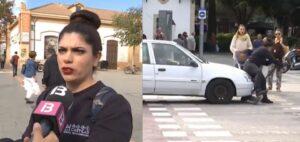 Joven es atropellada tras ser entrevistada sobre seguridad vial