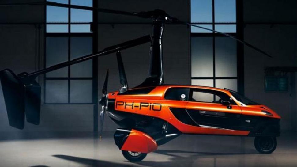 Presentan al primer automóvil volador que se comercializará -