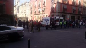 Balacera cerca de Palacio Nacional deja cuatro muertos y dos heridos