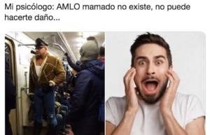 Usuarios crean memes con la foto de un hombre musculoso que se parece a AMLO