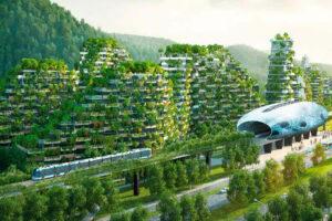 China planea construir la primera ciudad forestal del mundo