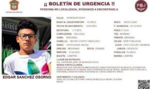 Localizan a joven desaparecido en Edomex; policías lo habrían detenido y robado