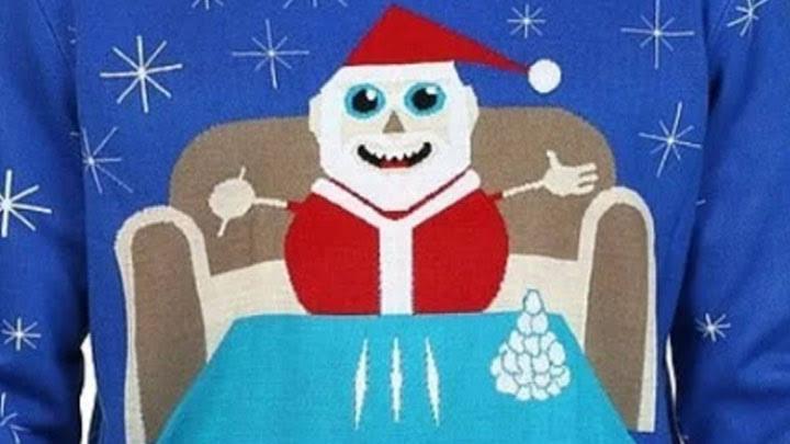 Walmart retira de sus tiendas suéter de Santa Claus con cocaína