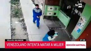 Por 5 mil pesos, joven intenta matar a mujer en Perú