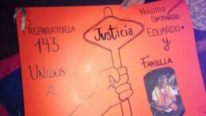 Piden justicia para joven golpeado y quemado por asaltantes en Chicoloapan, Edomex