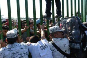 AMLO defiende actuación de la Guardia Nacional en la frontera sur del país