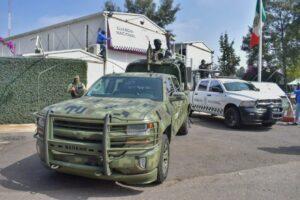 Guardia Nacional llega a Naucalpan para reforzar estrategia de seguridad