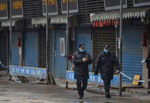 Así luce el mercado de mariscos Huanan, donde se pudo originar el coronavirus