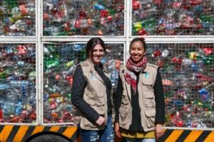 Jóvenes mexicanas crean Ecolana, una plataforma para canjear basura por dinero