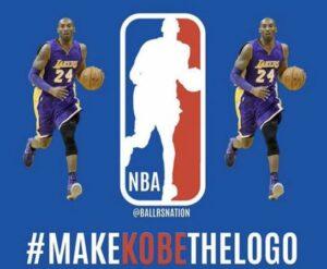 Internautas piden que Kobe Bryant sea el nuevo logo de la NBA