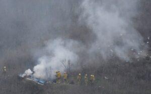Helicóptero en el que murió Kobe Bryant voló en condiciones de neblina peligrosas