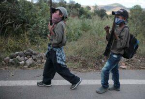 Niños en Chilapa, Guerrero, no van a la escuela porque no hay maestros