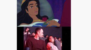Pasa seis meses editando una escena de una película Disney para proponerle matrimonio a su novia