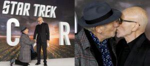 """Ian McKellen le """"pide matrimonio"""" a Patrick Stewart en el estreno de Star Trek: Picard"""