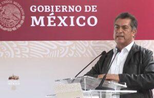 """""""El Bronco"""" es abucheado en evento de AMLO en Monterrey"""