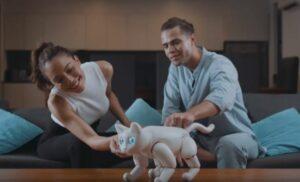 MarsCat es una gata robótica capaz de interactuar con su dueño