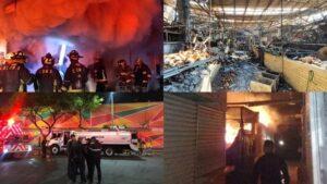 Incendios en mercados de la CDMX fueron por cortos circuitos: FGJ