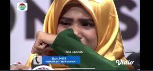 Joven se entera de la muerte de su madre durante un programa en vivo