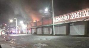 Investigarán si incendios en mercados de la CDMX han sido provocados