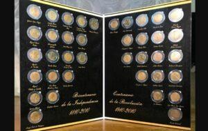 Monedas conmemorativas de la Independencia y la Revolución Mexicana pueden valer más de mil pesos