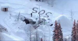 Rescatan a hombre tras pasar tres semanas a la intemperie en Alaska