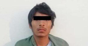 Capturan a presunto violador serial tras intentar violar a un joven en Ecatepec