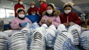 China construirá una fábrica de mascarillas en solo seis días