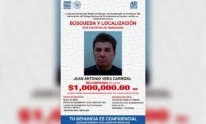 Ofrecen 1 mdp de recompensa por exdiputado del PRI acusado de atacar con ácido a joven