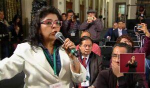 Frida Guerrera cuestiona a AMLO por evadir el tema del feminicidio