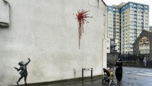 Banksy presenta su nuevo mural en Reino Unido