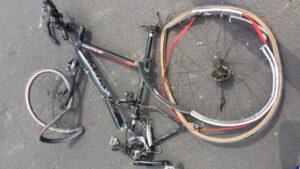 Ciclista falleció por bala perdida de militar en la Alcaldía Cuauhtémoc