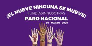 Universidades, empresas y gobiernos estatales se suman al paro nacional #UnDíaSinNosotras