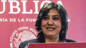 Irma Sandoval es criticada por proponer paro de hombres para que mujeres no laven platos