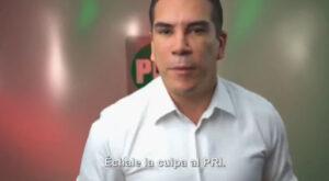 """El PRI lanza campaña para que le """"echen la culpa de todo"""""""