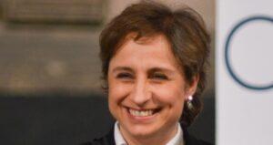 Paro de mujeres no es para golpear a su gobierno, no se equivoque, dice Aristegui a AMLO