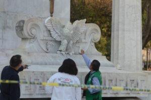 Responsable de vandalizar el Hemiciclo a Juárez podría recibir hasta 10 años de cárcel