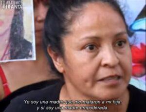 Tengo el derecho a quemar y a romper, me mataron a mi hija: madre de Marichuy