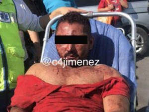 Hombre intenta matar con un cuchillo a su expareja y casi lo linchan en Iztapalapa