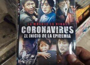 """Vendedores de Tepito ya venden una película sobre el """"coronavirus"""""""