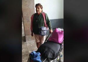 Mujer con diabetes es abandonada por su hija en central de autobuses de Sonora