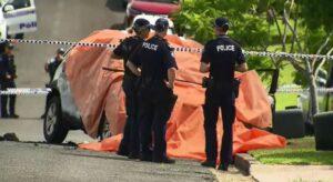 Exjugador de Rugby incendia el auto en el que viajaba su exesposa y sus tres hijos y después se suicida