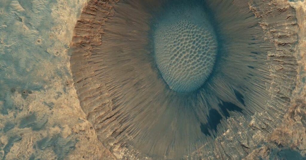 Un video en 8k muestra imágenes reales de la superficie de Marte