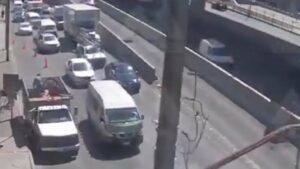 Se registra nuevo accidente en Periférico Norte, en Naucalpan